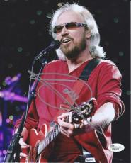Barry Gibb Bee Gees Signed Autograph 8x10 Photo Saturday Night Fever Jsa Coa #1