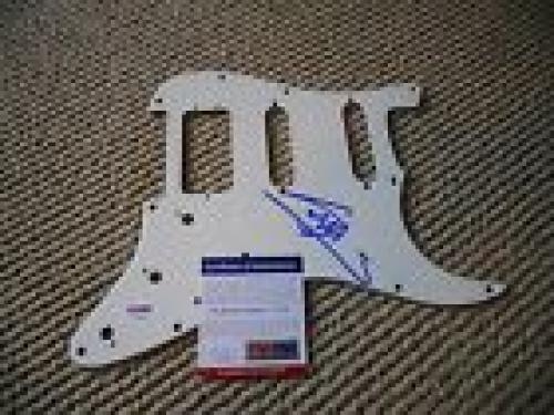 Barry Gibb Bee Gees Signed Autographed Guitar Pickguard PSA Certified