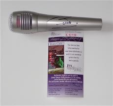 Barry Gibb Bee Gees Signed Microphone Jsa Coa K42199