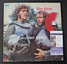 Barry Gibb Cucumber Castle Bee Gees Autographed Signed LP JSA Certified