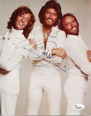 BARRY GIBB HAND SIGNED 8x10 COLOR PHOTO+COA      HANDSOME+SEXY SINGER   BEE GEES