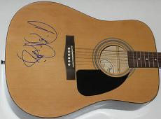 BARRY GIBB of The BEE GEES Signed FENDER ACOUSTIC GUITAR + R. Epperson Loa