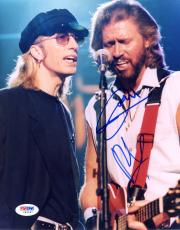 """Barry Gibb & Robin Gibb Autographed 8""""x 10"""" The Bee Gees Photograph - PSA/DNA COA"""