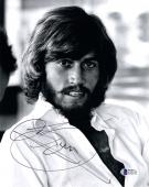 BARRY GIBB SIGNED 8x10 PHOTO CELEBRATED 70'S DISCO ICON THE BEE GEES BECKETT BAS