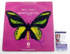 Barry Gibb Signed Album Bee Gees Rare Precious & Beautiful Vol. 2 w/ JSA AUTO