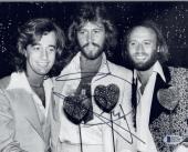 Barry Gibb Signed Autographed 8x10 Photo BEE GEES Beckett BAS COA