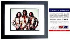 Barry Gibb Signed - Autographed BEE GEES 11x14 inch Photo with PSA/DNA Certificate of Authenticity (COA) BLACK CUSTOM FRAME