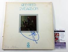 Barry Gibb Signed LP Record Album Bee Gees 2 Years On w/ JSA AUTO