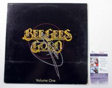 Barry Gibb Signed LP Record Album Bee Gees Gold Volume One w/ JSA AUTO