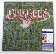 Barry Gibb Signed LP Record Album Bee Gees Main Course w/ JSA AUTO