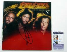 Barry Gibb Signed LP Record Album Bee Gees Spirits Having Flown w/ JSA AUTO