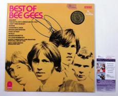Barry Gibb Signed LP Record Album Best of Bee Gees w/ JSA AUTO