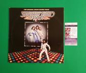 "Barry Gibb Signed ""saturday Night Fever"" Lp Album With Photo Proof And Jsa Coa"