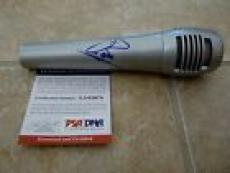 Barry Gibb The Bee Gees Signed Autographed Microphone PSA Certified