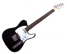Barry Manilow Autographed Signed Tele Guitar Uacc Rd Coa AFTAL