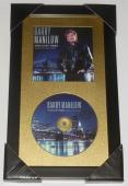 Barry Manilow Autographed This Is My Town Cd (framed & Matted) - W/ Proof!