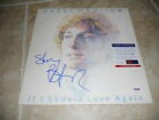 Barry Manilow If I Should Love Signed Autographed LP Album Record PSA Certified