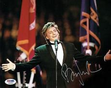 Barry Manilow Signed Authentic Autographed 8x10 Photo PSA/DNA #W10834