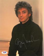 Barry Manilow Signed Authentic Autographed 8x10 Photo PSA/DNA #W10835