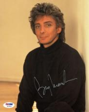 Barry Manilow Signed Authentic Autographed 8x10 Photo PSA/DNA #W10836