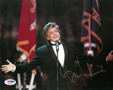 Barry Manilow Signed Authentic Autographed 8x10 Photo PSA/DNA #X20100