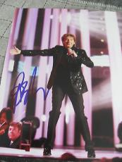BARRY MANILOW SIGNED AUTOGRAPH 8x10 PHOTO COPACABANA PROMO IN PERSON COA RARE D