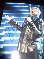 BARRY MANILOW SIGNED AUTOGRAPH 8x10 PHOTO IN PERSON COA AUTO RARE PROMO NYC E