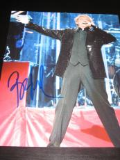 BARRY MANILOW SIGNED AUTOGRAPH 8x10 PHOTO IN PERSON RARE PROOF THE GREATEST E