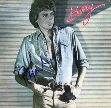 Barry Manilow Signed - Autographed BARRY LP Record Album Cover