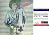 Barry Manilow Signed - Autographed BARRY LP Record Album Cover with PSA/DNA Certificate of Authenticity (COA)