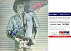 Barry Manilow Signed - Autographed BARRY LP Record Album Cover with PSA/DNA Authenticity