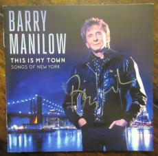 Barry Manilow Signed CD Booklet - Beckett BAS