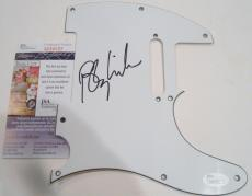 Barry Manilow Signed Electric Pickguard w/JSA COA M84057