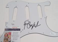Barry Manilow Signed Electric Pickguard w/JSA COA M84058