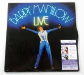 Barry Manilow Signed LP Record Album Live w/ JSA AUTO