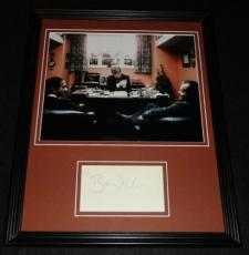 Barry Nelson Signed Framed 11x14 Photo Display The Shining James Bond