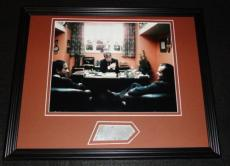Barry Nelson Signed Framed 11x14 Photo Display The Shining James Bond B