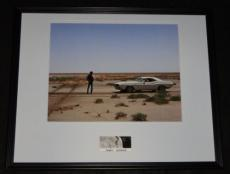 Barry Newman Signed Framed 16x20 Photo Poster Display Vanishing Point