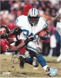 Detroit Lions Barry Sanders Autographed Photo - Mounted Memories