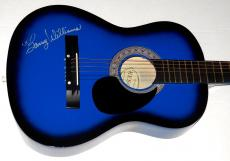 Barry Williams Autographed Guitar (brady Bunch) W/ Proof!