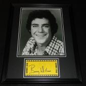 Barry Williams Signed Framed 11x14 Photo Display Brady Bunch