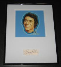 Barry Williams Signed Framed 11x14 Photo Display JSA Brady Bunch