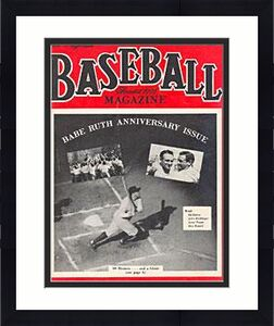 Baseball Magazine June 1948 President Harry Truman and Albert Chandler Baseball CommissionerSALE