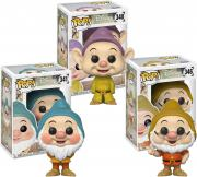 Bashful, Doc & Dopey Snow White Disney Funko Pop! Bundle