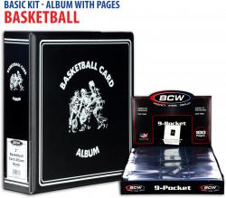 Basic Basketball Album Kit with Pages