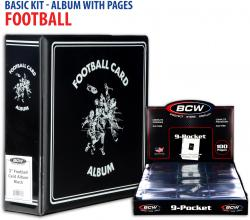 Basic Football Album Kit with Pages - Mounted Memories