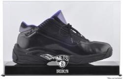 NBA Brooklyn Nets Basketball Shoe Logo Display Case