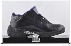 Milwaukee Bucks Team Logo Basketball Shoe Display Case