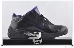 Memphis Grizzlies Team Logo Basketball Shoe Display Case