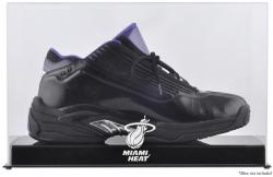 Miami Heat Team Logo Basketball Shoe Display Case